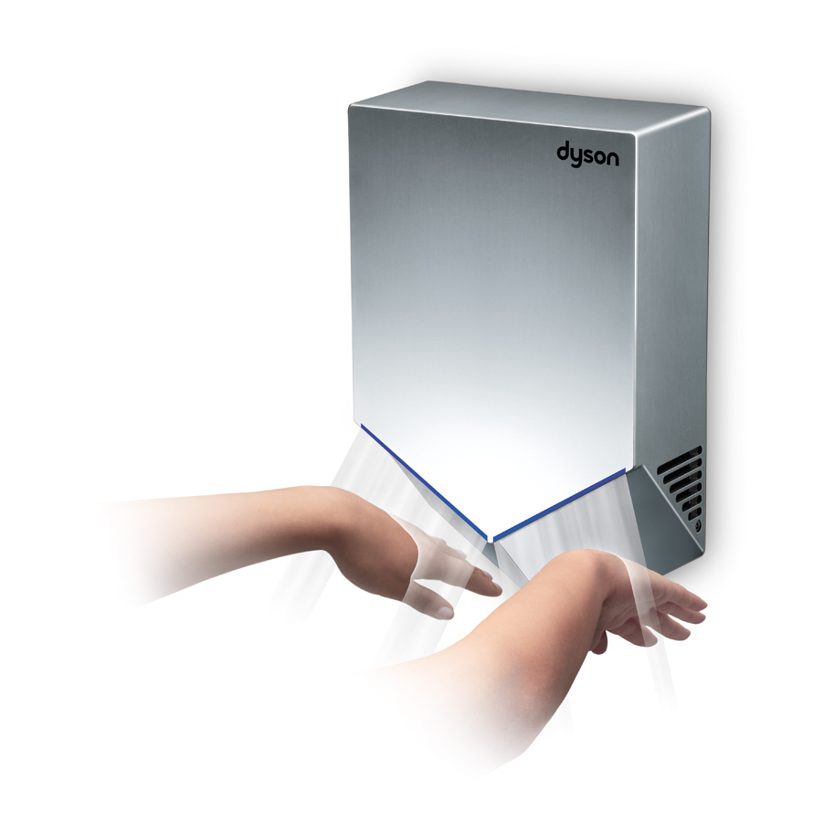 скоростная сушилка для рук dyson airblade v
